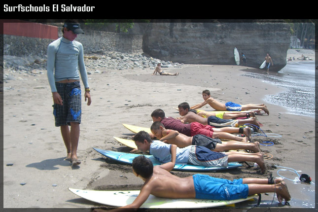 surf schols el salvador