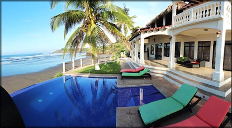 el salvador surf resort in playa las flores in el salvador wild east